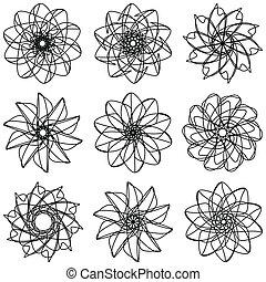 flores, conjunto