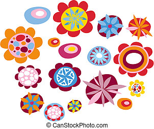 flores, decorativo