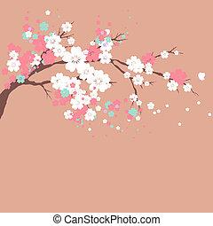 flores, desenho
