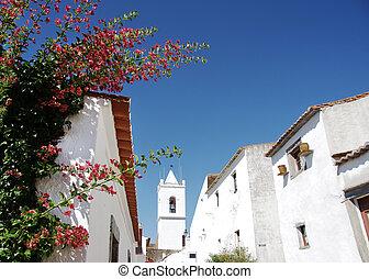 flores, en, portugués, calle