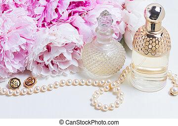 flores, estilo de vida, peonía, boda