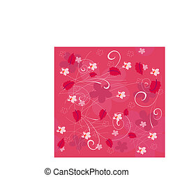 flores, fundo