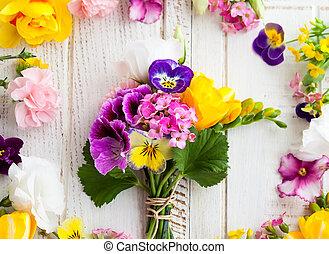 flores, grupo
