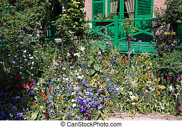 flores mola, jardim