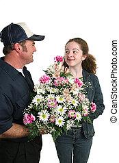 flores, para, me?