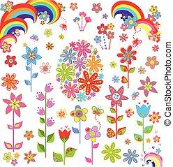 flores, pascua