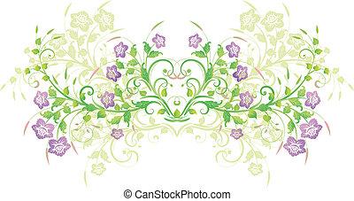 flores, projete elemento