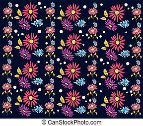 flores, projeto teste padrão