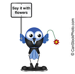 flores, sinal