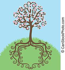 florescer, árvore