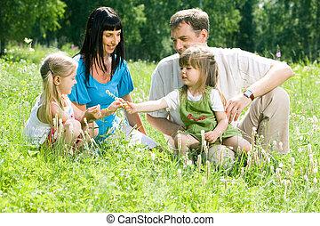 floresta, família