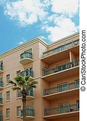 Florida Condo - A Florida style condominium accented with a...