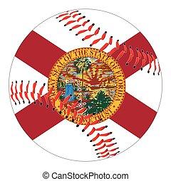 Florida Flag Baseball