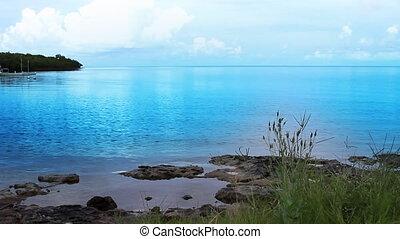 Florida Keys Coast Line - Color enhanced Florida Keys Coast...