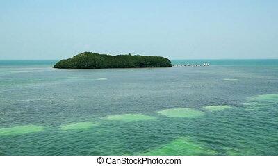 Florida Keys Mangrove Island