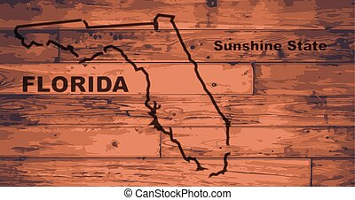 Florida Map Brand