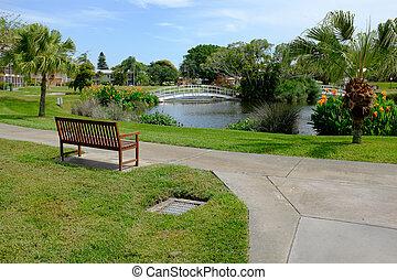 Florida Park - A retirement villiage park in Southwest...