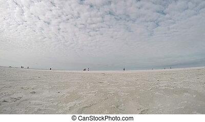 Sarasota Beach Time Lapse
