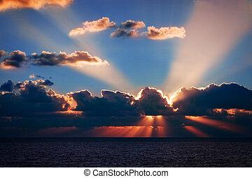 florida, soluppgång