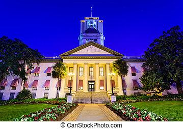 Florida State Capitol - Tallahassee, Florida, USA at the Old...