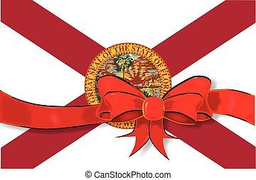 Florida State Flag ribbon
