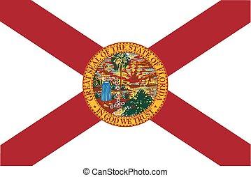 Florida State Flag - The flag of the USA state of Florida