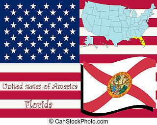 florida state illustration
