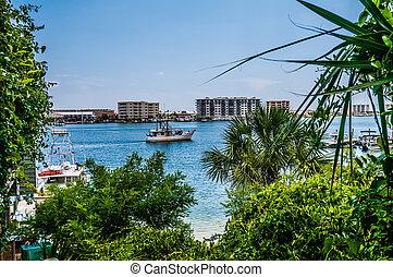 florida, tengerpart táj