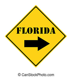 Florida that way Sign