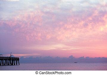 florida, východ slunce, 8