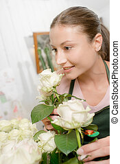 Florist worker