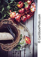 floristic, hintergrund