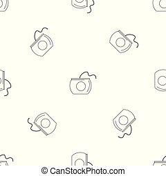 Floss box pattern seamless vector
