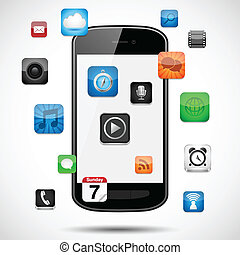 flotter, smartphone, apps