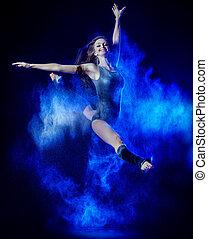 flour dance - Beautiful expressive bellet dancer dancing at ...