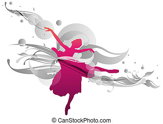 Flourish ballerina