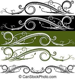 Flourish Banner - An image of a flourish banner.
