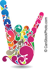 Flourish Hand