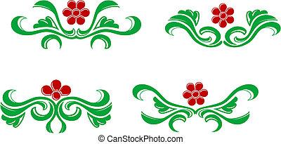 Flourishes decorations