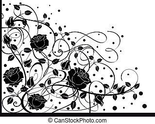 Flourishes in black 2