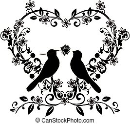 flourishes with birds love 2