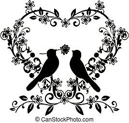 flourishes with birds love 2