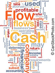 Flow cash is bone background concept - Background concept...