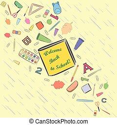 Flow of Falling School Stuff