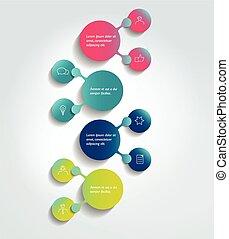 flowchart, infographic, scheme., element., diagram