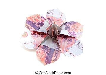 Flowe ruble bill