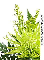 Flower arrangement - Close up of floral arrangement with...