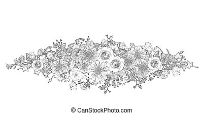 Flower Arrangement Stock Illustrations 8818