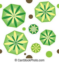 Flower background design. Vector