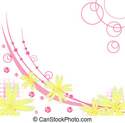 flower background for art projects